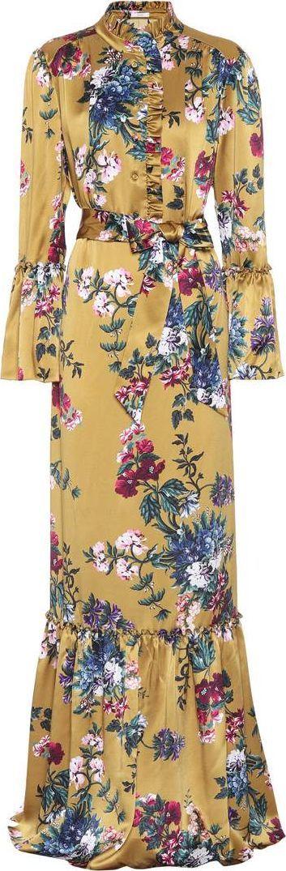 Erdem Stephanie silk dress