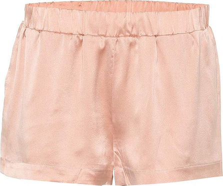 Asceno Silk pajama shorts