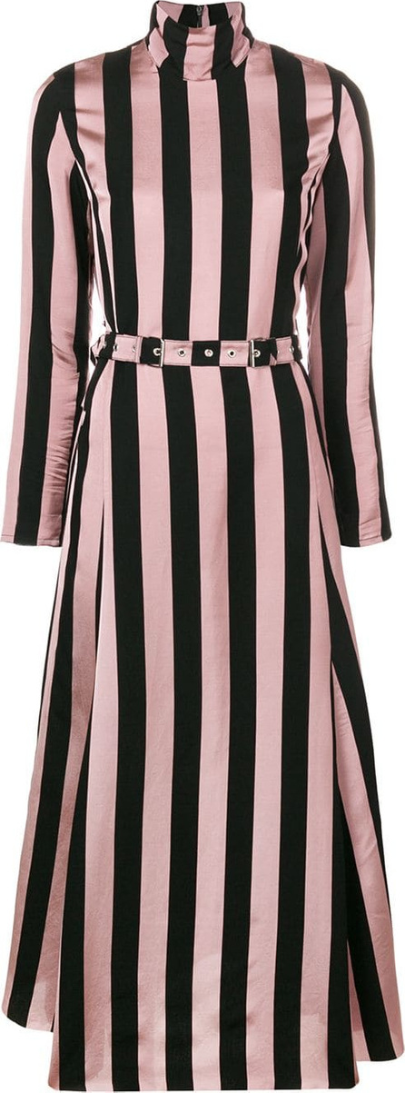 Marques'Almeida Striped asymmetric dress