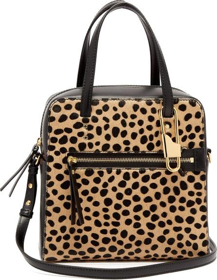 Joseph Ryder 25 leopard-print pony-hair bag