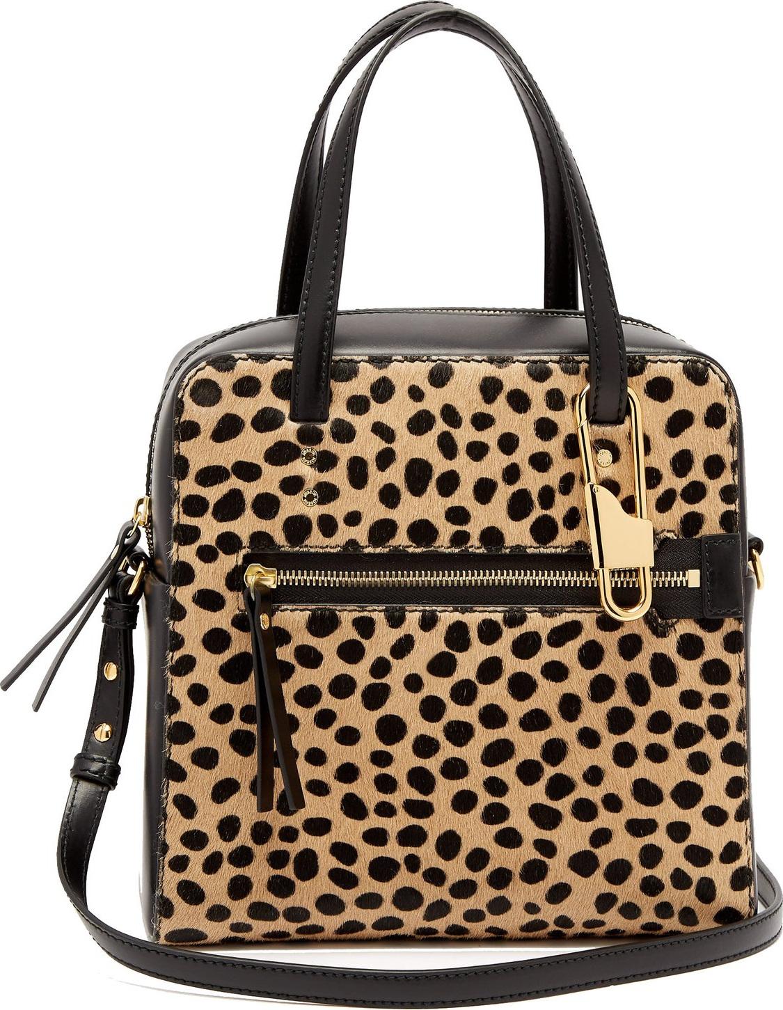 Joseph - Ryder 25 leopard-print pony-hair bag
