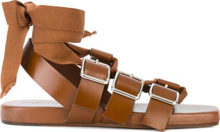 Jil Sander Antick buckled sandals