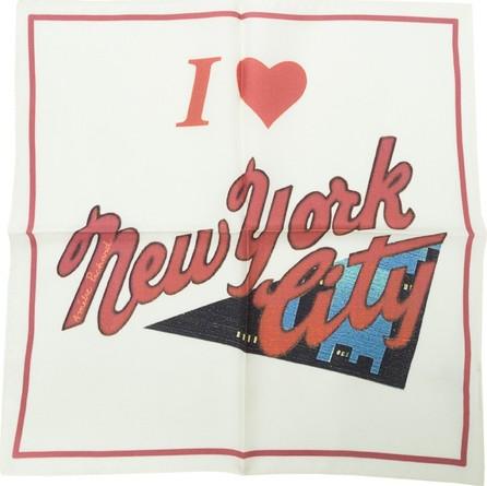 Amélie Pichard I love New York Postcard Scarf