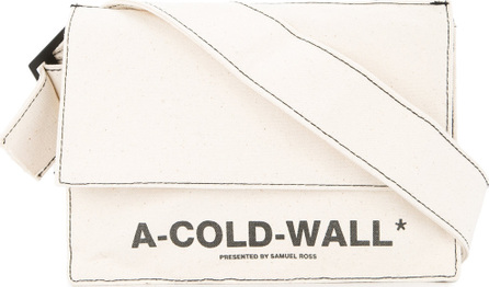 A-Cold-Wall* Logo cross body bag