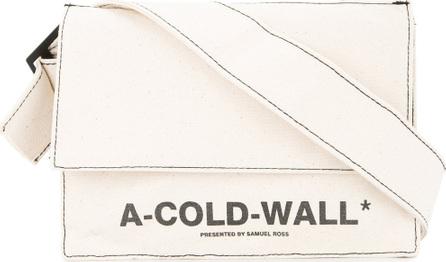 A-Cold-Wall* Logo cross body bag