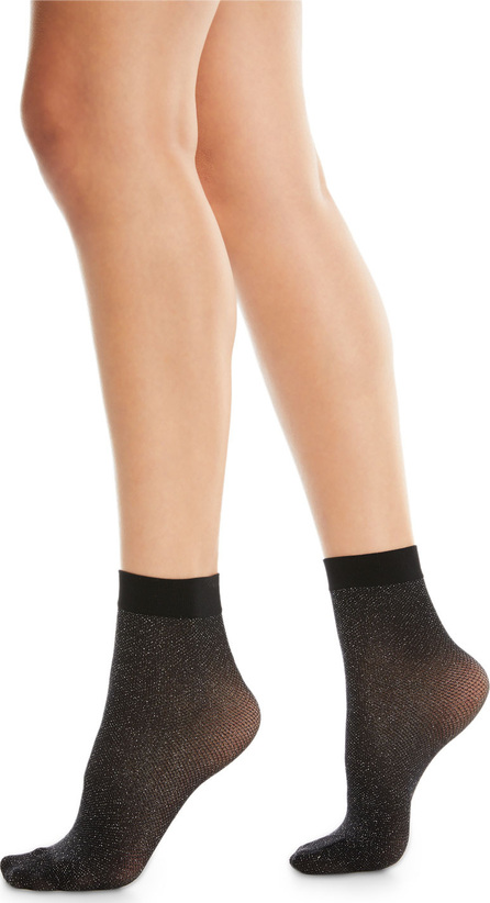 Wolford Metallic-Knit Crew Socks