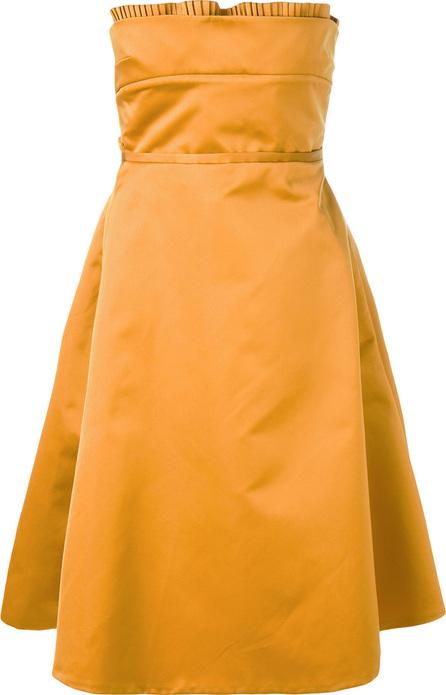 ROCHAS A-line pleated dress
