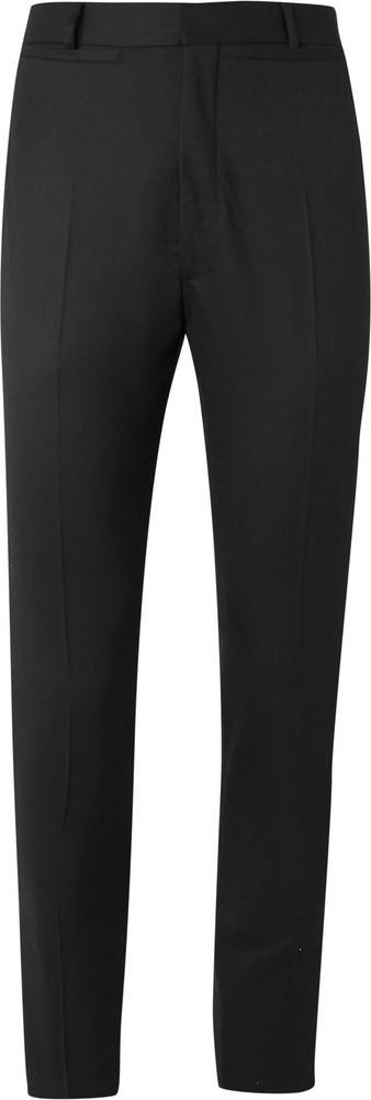 Cmmn Swdn Black Samson Sailor Slim-Fit Wool Trousers