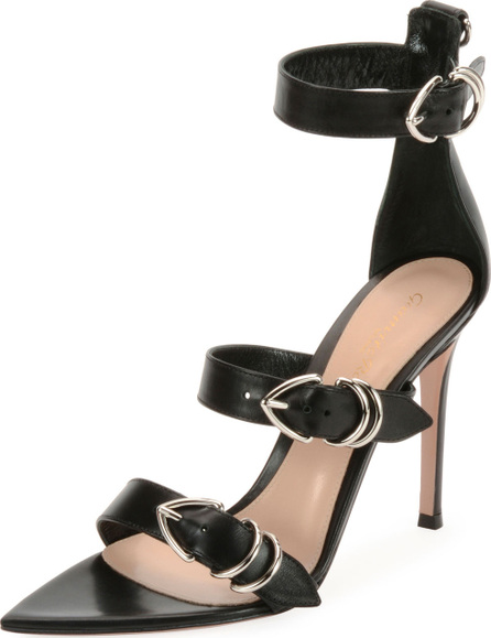 Gianvito Rossi Leather Belted High Sandal