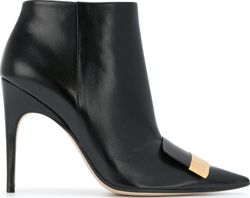 Sergio Rossi - Point-toe ankle boots