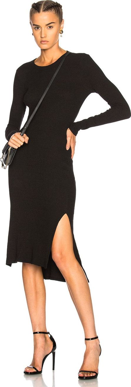 ENZA COSTA Rib Side Slit Dress