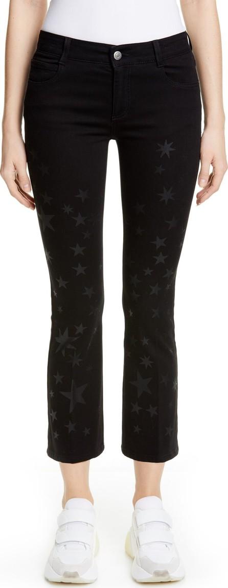 Stella McCartney Star Print Skinny Kick Jeans