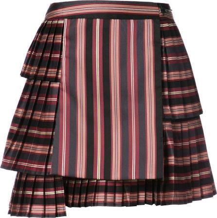 Zimmermann striped pleated skirt