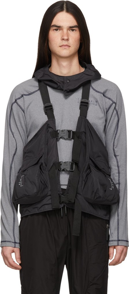 A-Cold-Wall* Black Gilet Backpack Vest