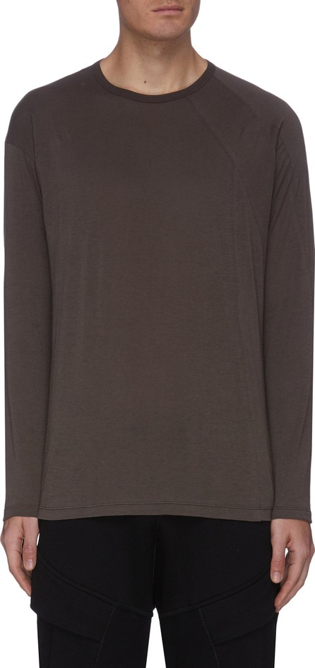 The Viridi-Anne Cut-And-Sew Sleeve T-shirt