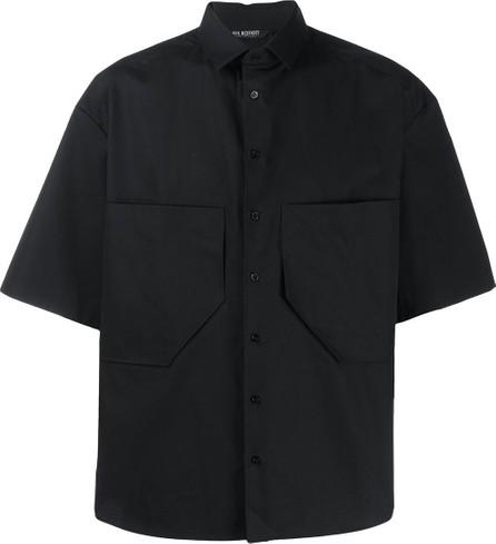 Neil Barrett Double chest pocket boxy shirt