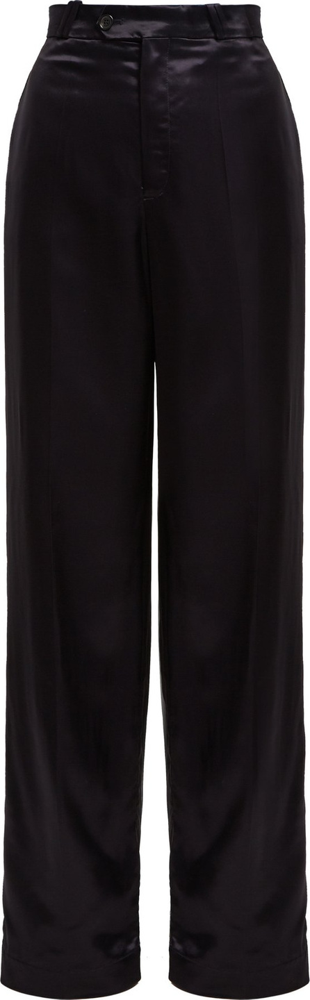 Acne Studios Tamilo wide-leg satin trousers