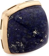 Fred 'Pain de sucre' lapis lazuli 18k yellow gold pyramid medium charm