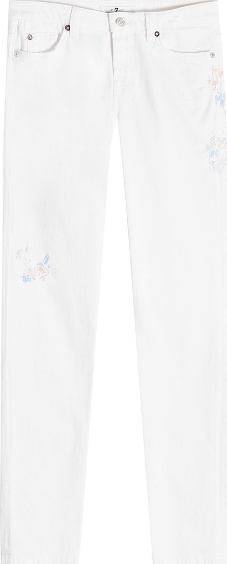 7 For All Mankind Embroidered Pyper Skinny Jeans