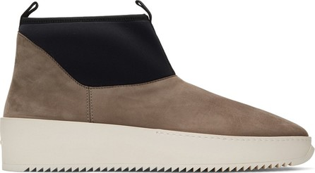Fear of God Brown & Black Polar Wolf Boots