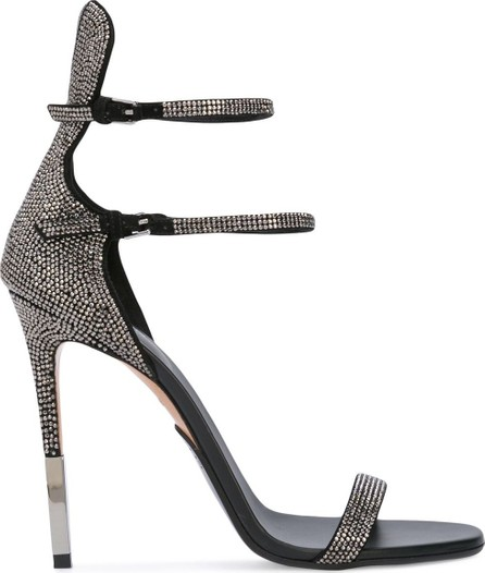 Balmain crystal embellished sandals