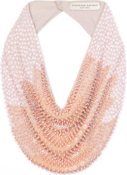 Mignonne Gavigan New York Tanya Scarf Necklace w/ Sequins