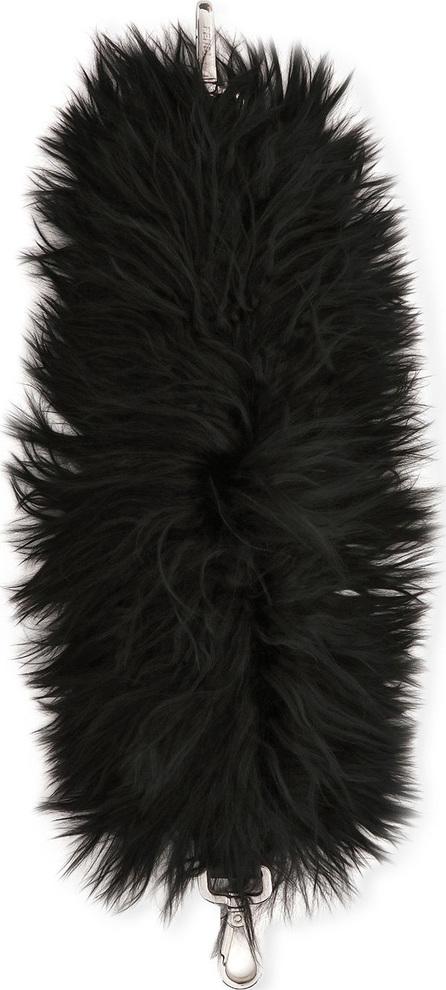 Fendi Strap You Mini Alpaca Fur Shoulder Strap