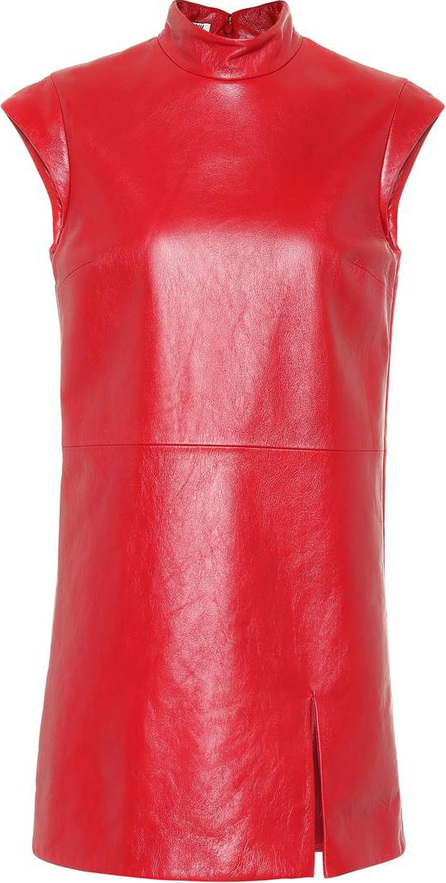 Miu Miu Leather minidress