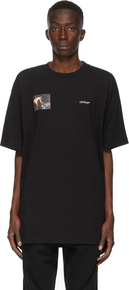 Off White Black Caravaggio Angel Arrows T-Shirt
