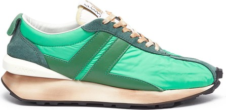 Lanvin 'Bumper' lace up leather running sneakers