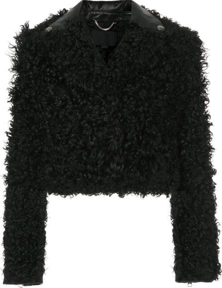 Alexander Wang Cropped textured jacket