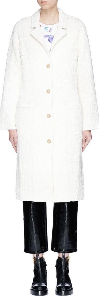3.1 Phillip Lim Textured silk blend coat