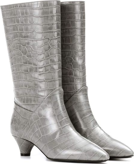 Marni Embossed leather boots