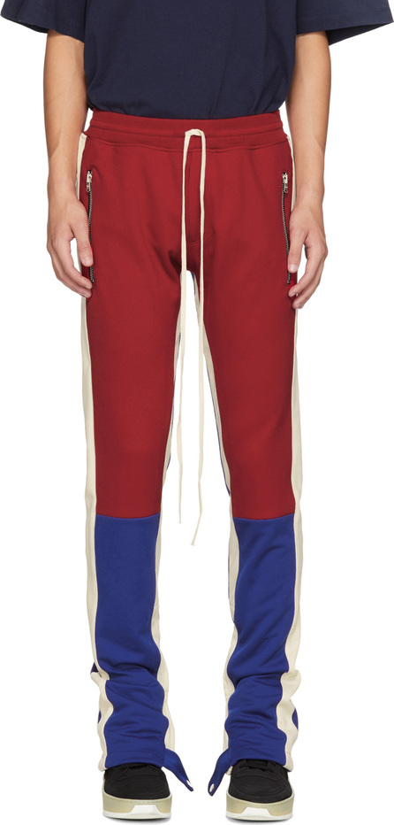 Fear of God Red & Blue Motorcross Lounge Pants