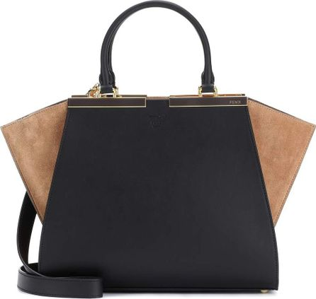 Fendi 3Jours leather and suede tote
