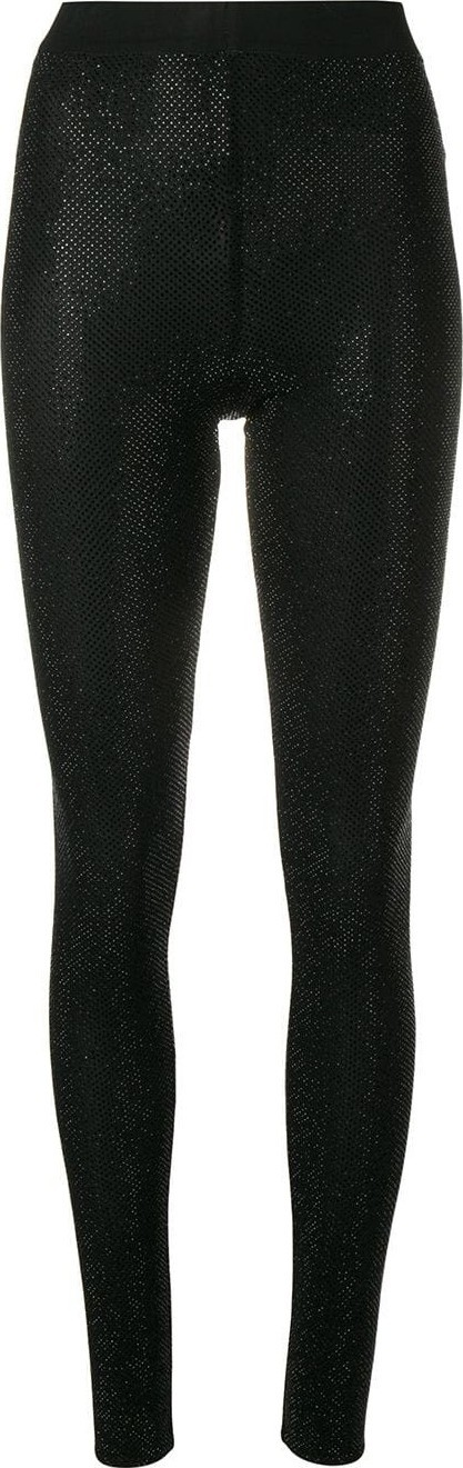 Alexandre Vauthier microcrystal leggings