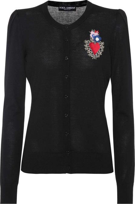 Dolce & Gabbana Embellished wool-blend cardigan