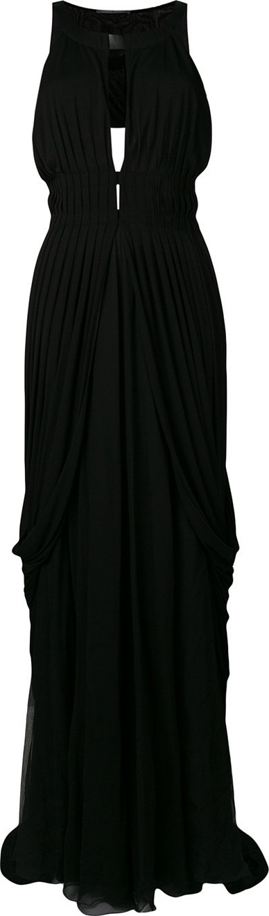 Alberta Ferretti Pleated evening dress