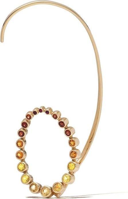 Charlotte Chesnais 18kt yellow gold Caracol single earring