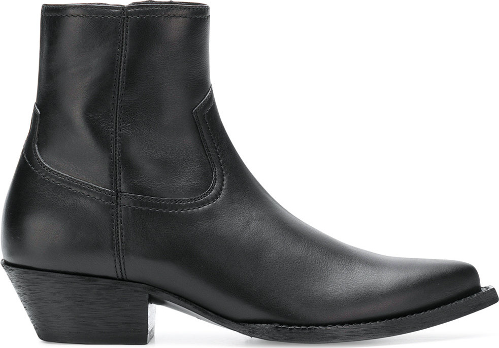 Saint Laurent - Pointed toe ankle boots