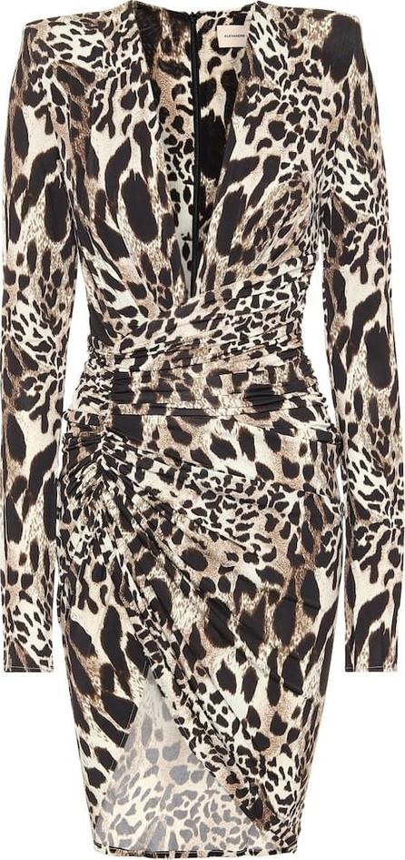 Alexandre Vauthier Leopard-print midi dress