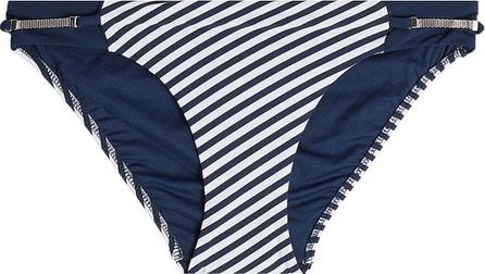 Heidi Klum Intimates Striped Bikini Bottoms
