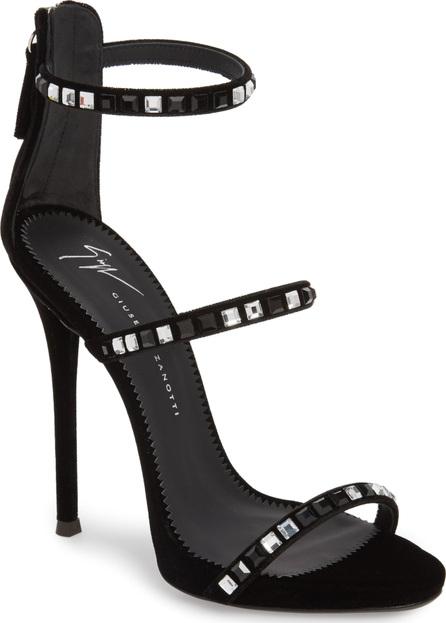 Giuseppe Zanotti Coline Crystal Embellished Sandal