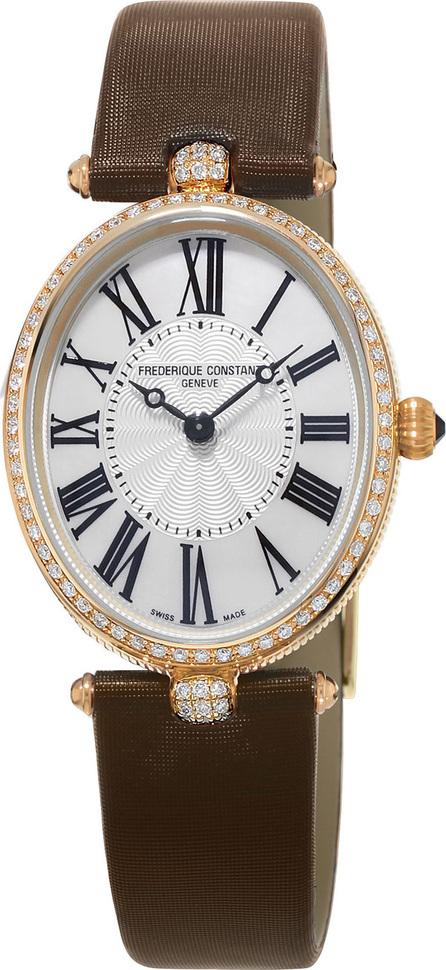 Frederique Constant Ladies' Classics Art Deco Rose Gold Diamond Watch