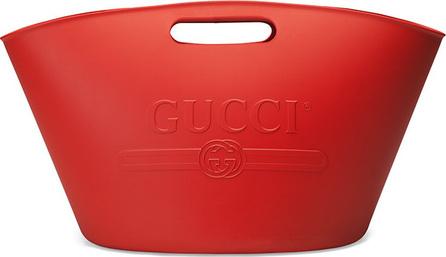 Gucci Gucci logo top handle tote