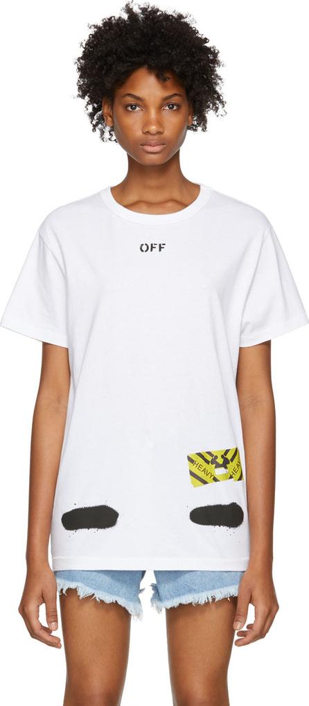 Off White White Spray Paint T-Shirt
