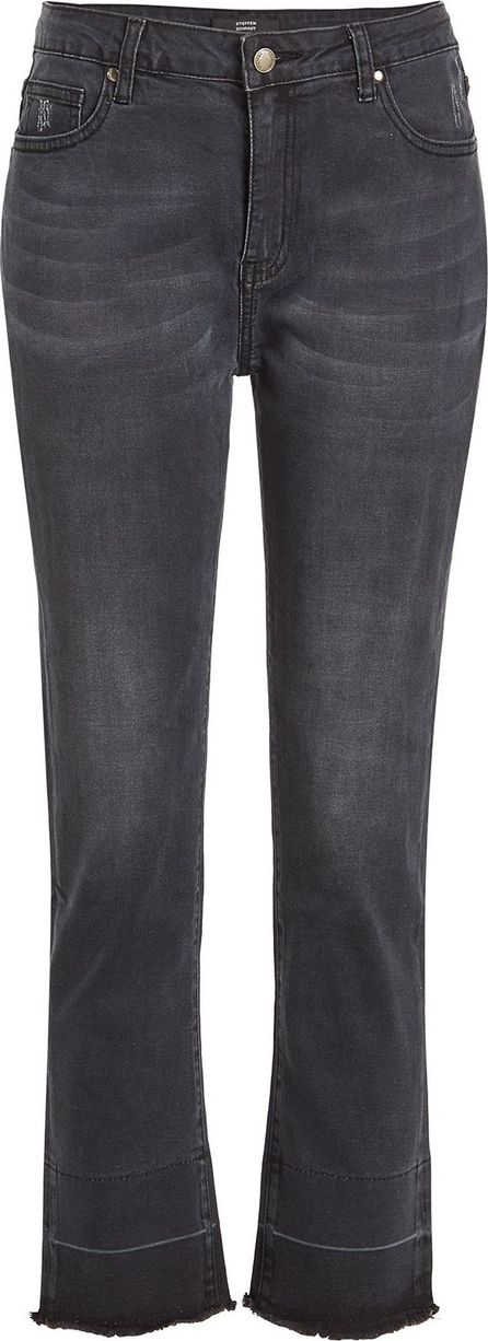 Steffen Schraut Cropped Jeans with Distressed Detail