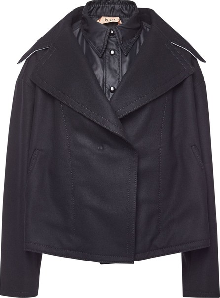 N°21 Wool Jacket with Cashmere