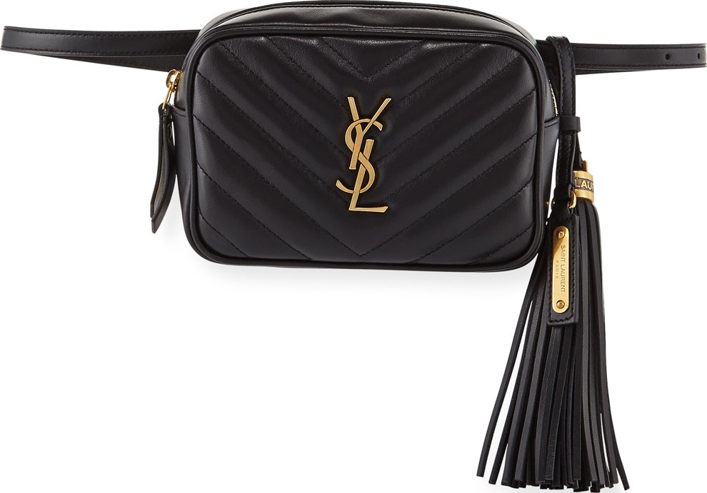 5e6cb7dc29 Lou Monogram YSL Quilted Leather Belt Bag