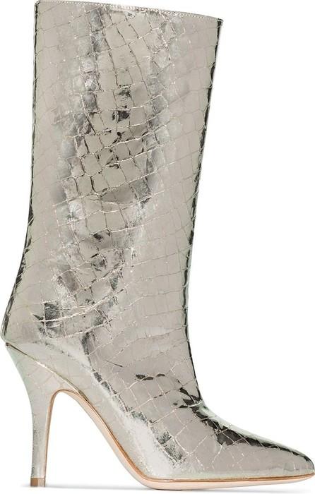 Paris Texas 90 crocodile-effect boots